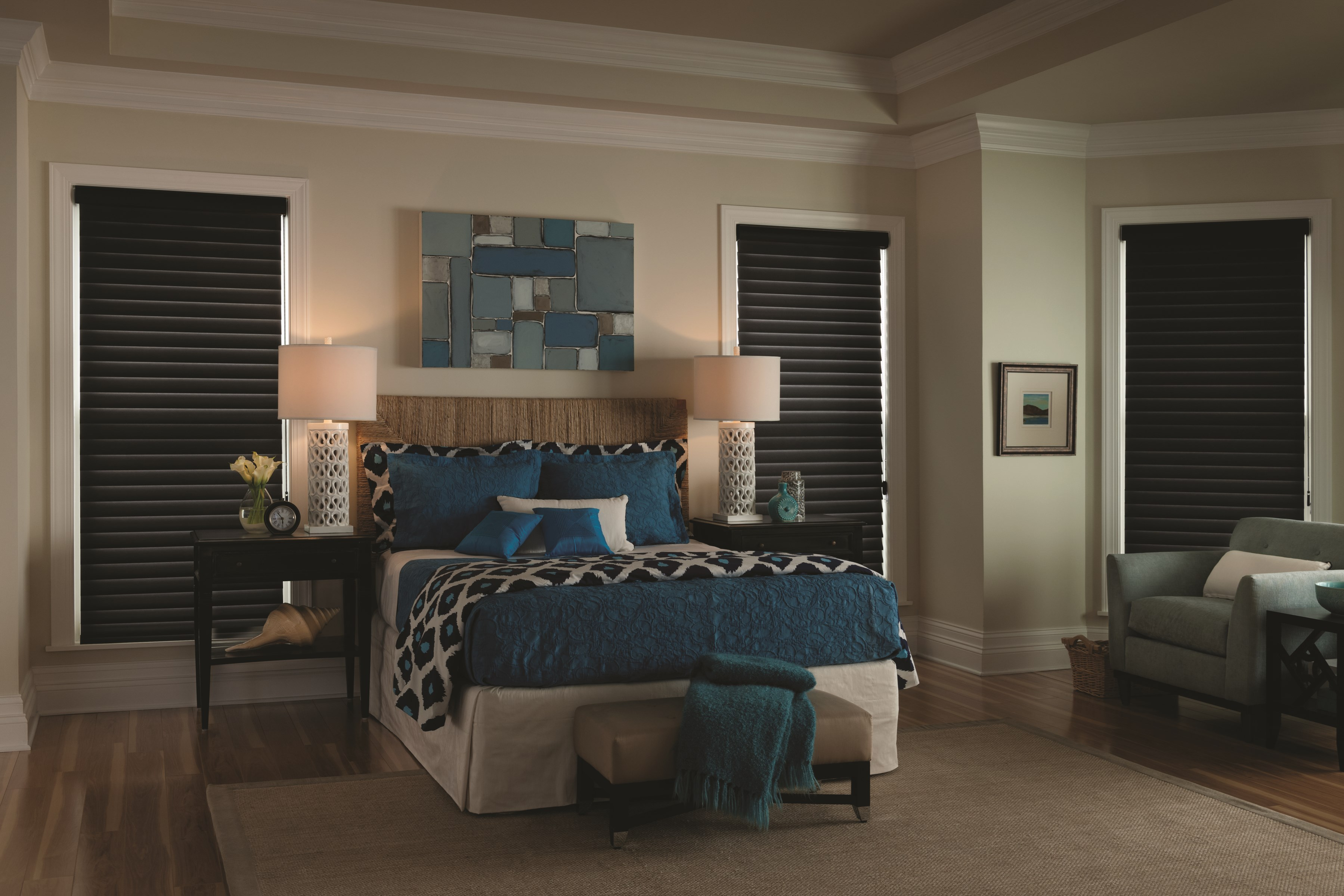 Bella View: Legacy Room Darkening Sheer Shade