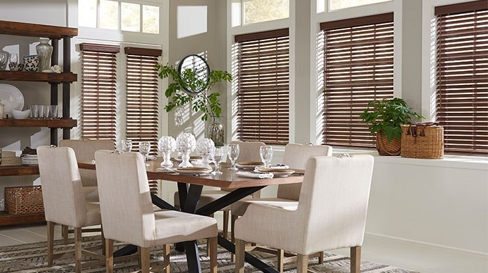 "Bella View: Advantage 2"" Faux Wood Blinds"