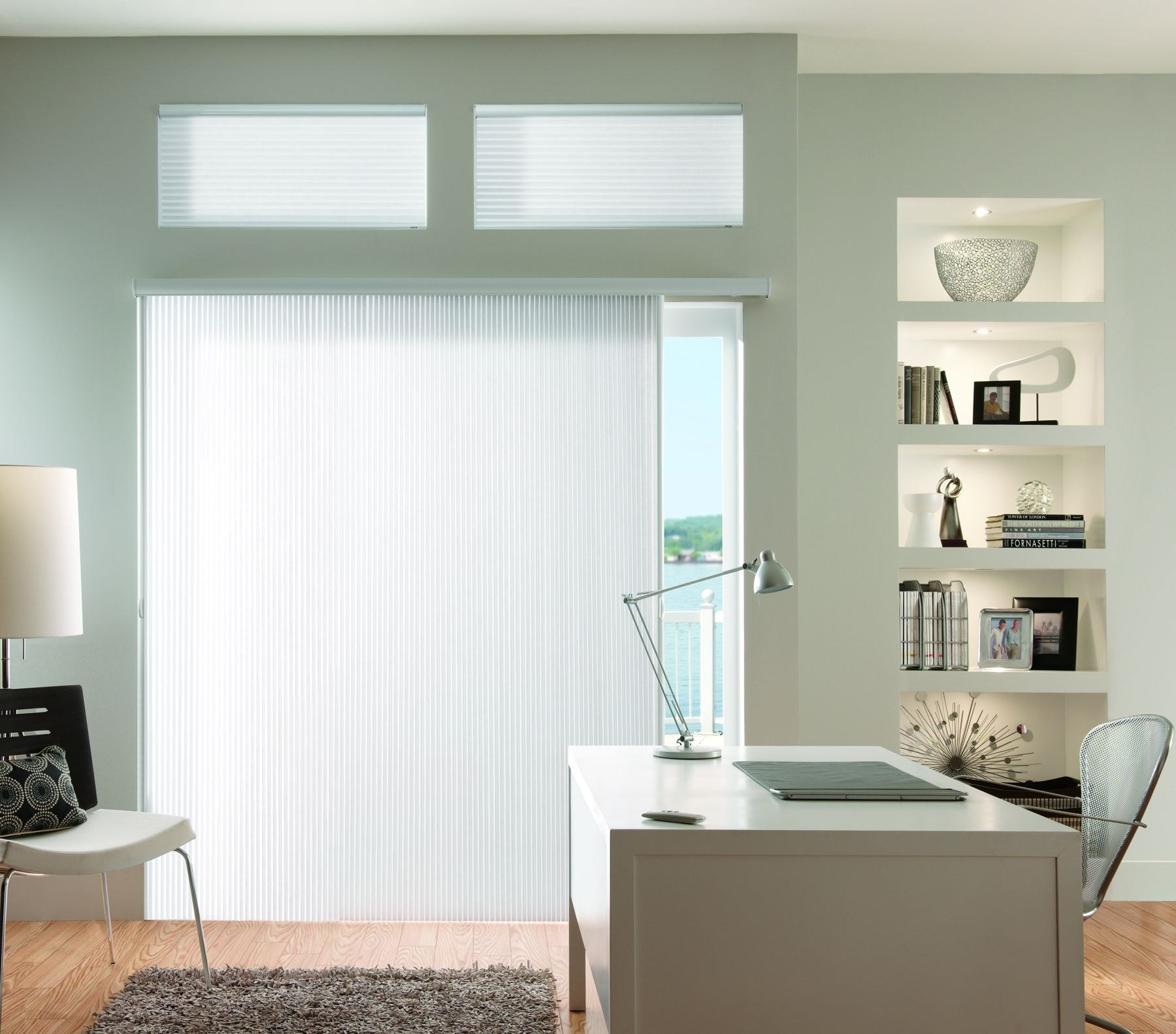 Bali: Light Filtering Vertical Cellular Shades