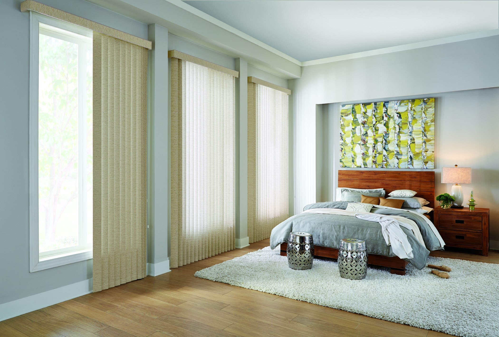 Bali: Vertical Blind - Fabric