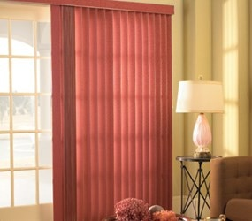 Levolor: Vertical Fabric Blind