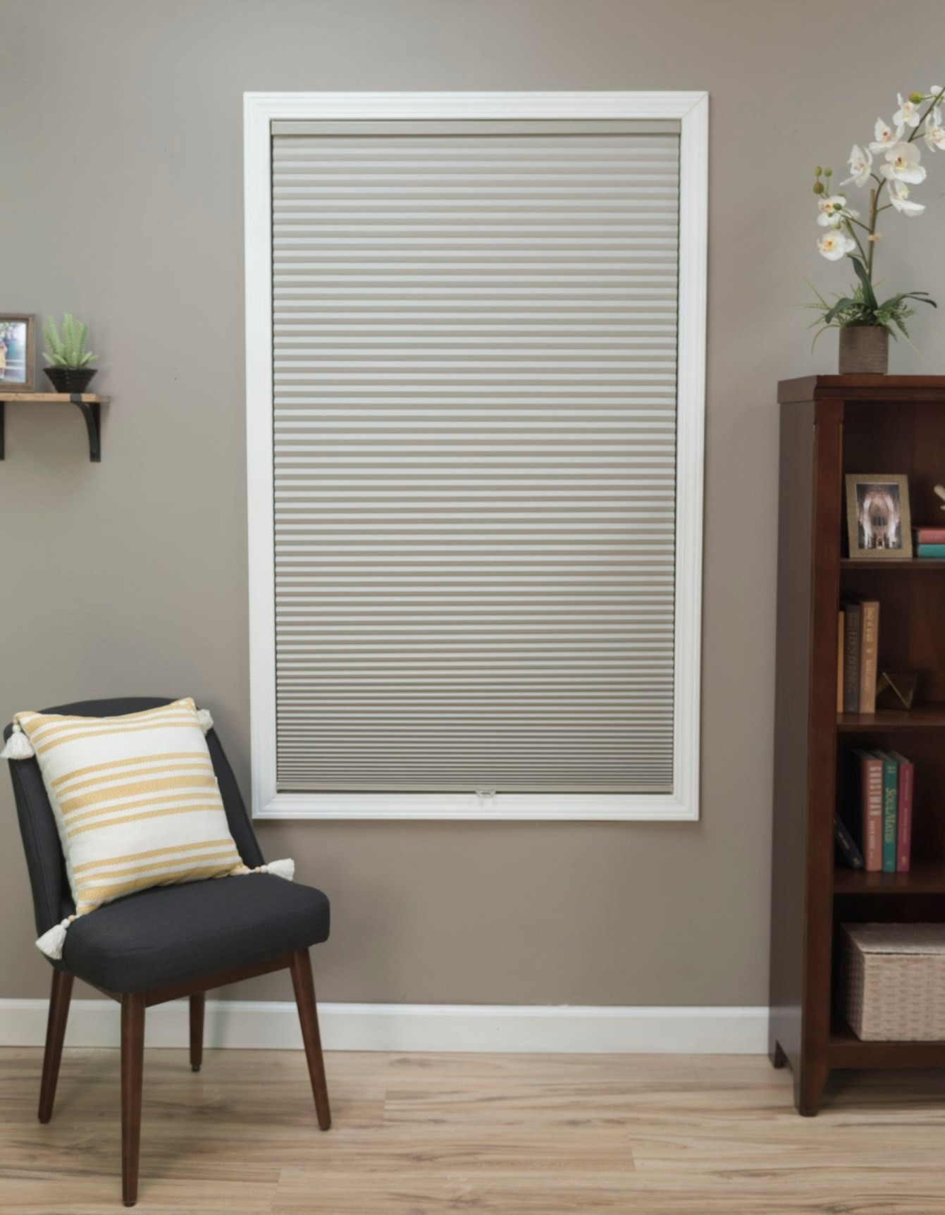 Bella View: Advantage Cordless Blackout Cellular Shade