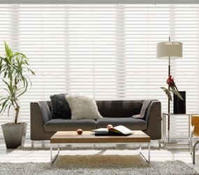 "Bella View: Legacy 2"" Light Filtering Fabric Blind"