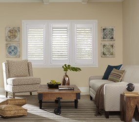 Bella View: Trademark Faux Wood Shutter