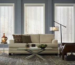 Bella View: Trademark Vinyl Vertical Blind