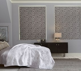 Bella View: Trademark Decorative Roller Shade