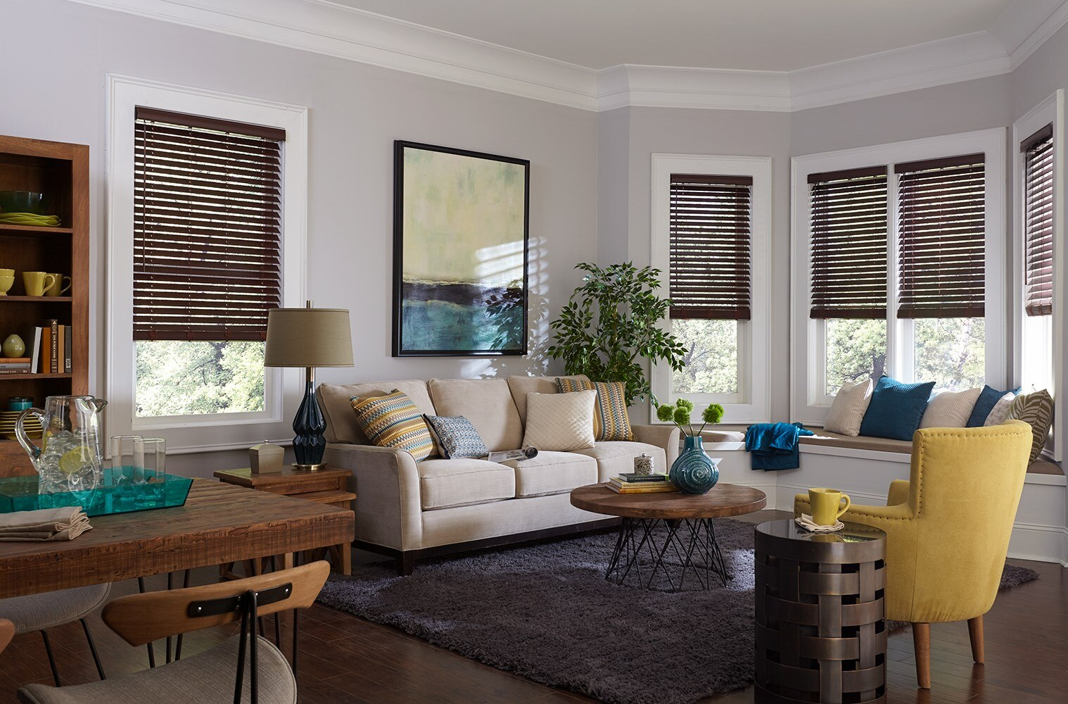 "Bella View: Legacy 2"" Faux Wood Blind"