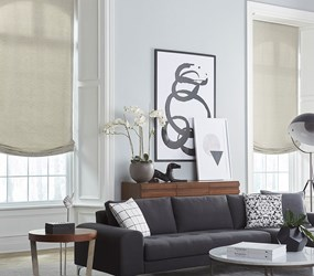 Bella View: Advantage Roman Shades