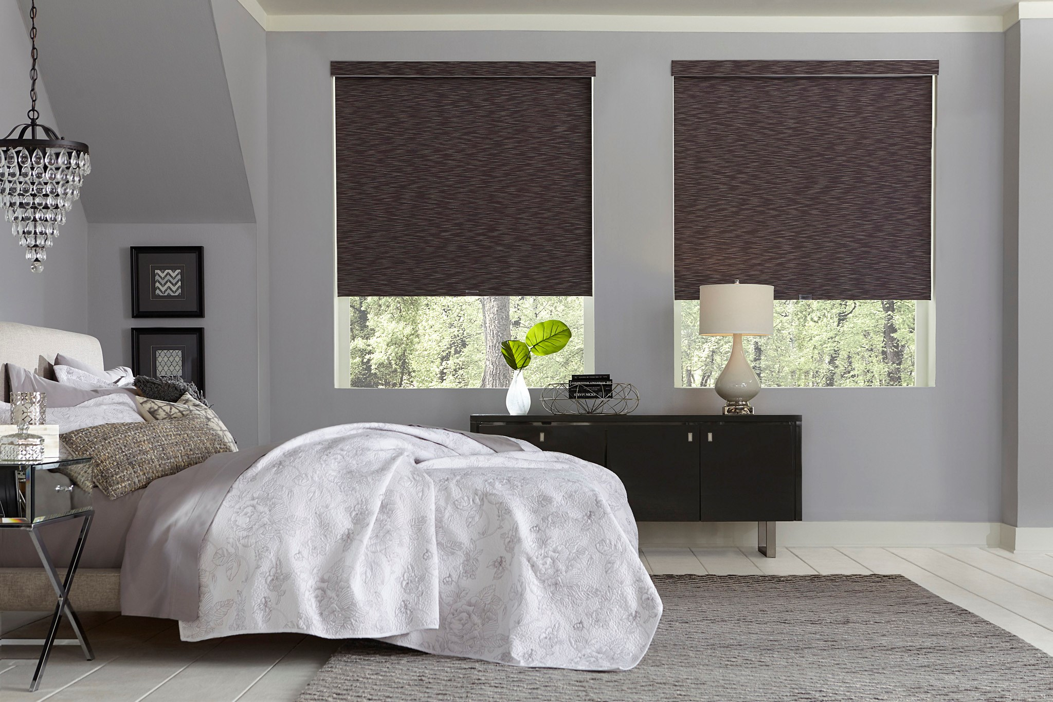 Bella View: Prestige Natural Blackout Roller Shade