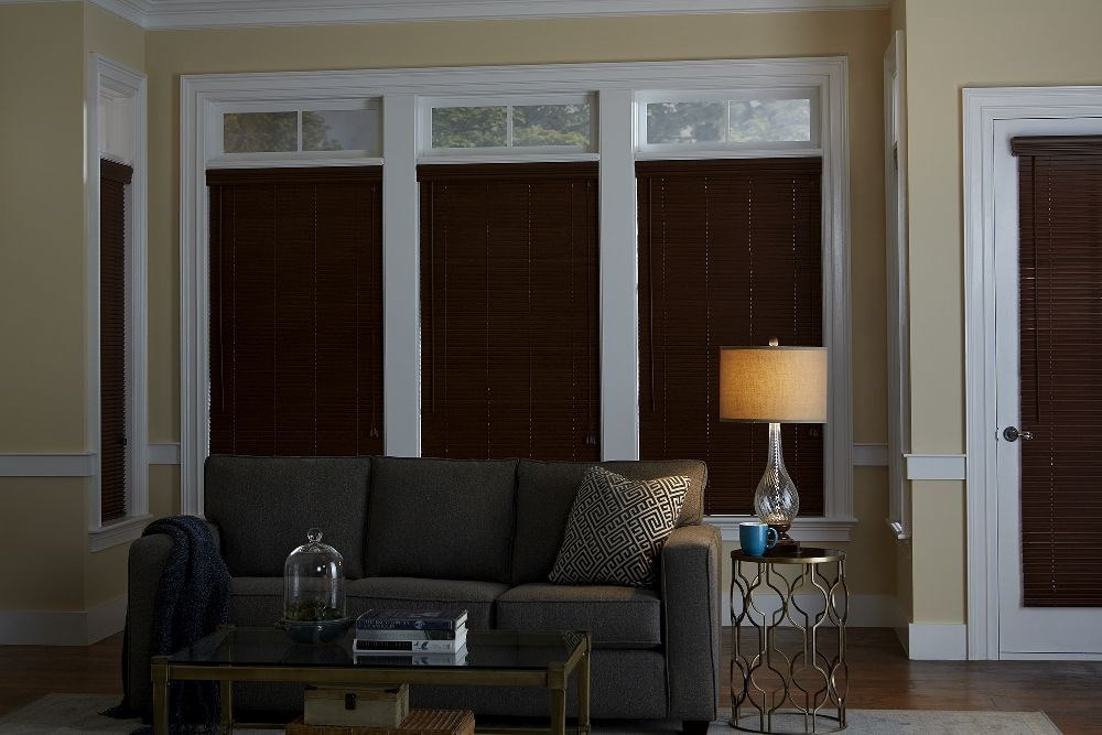 "Bella View: Trademark 1"" Faux Wood Blind"