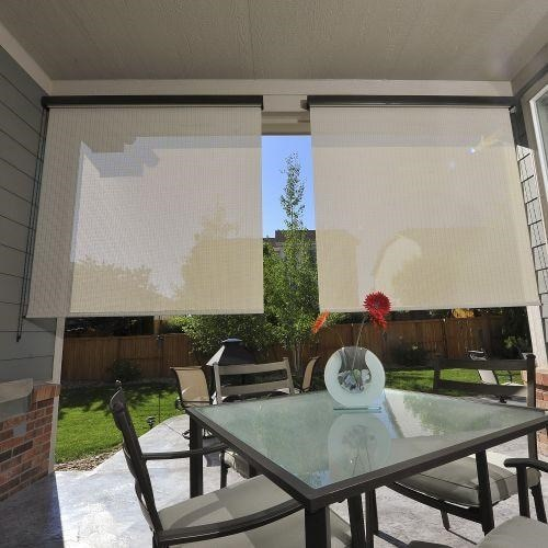 Bella View: Legacy Outdoor Solar Shade