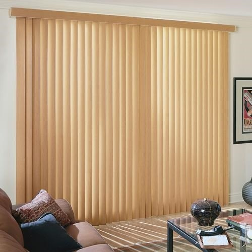 Bella View: Legacy Faux Wood Vertical Blind