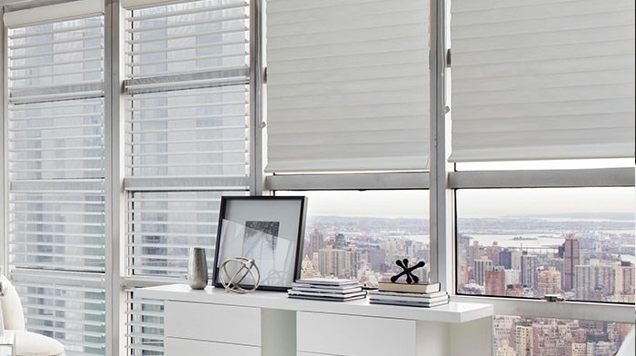 Bella View: Advantage Light Filtering Horizontal Sheer Shade