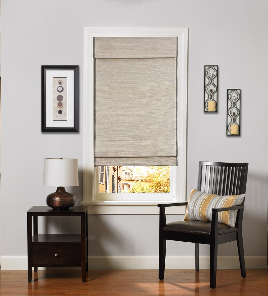 Bella View: Prestige Woven Wood Shade
