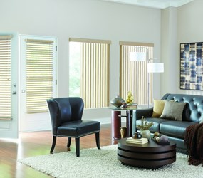 Bali: S-Shaped Vinyl Vertical Blind