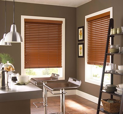 "Bella View: Advantage 2"" Faux Wood Blind"