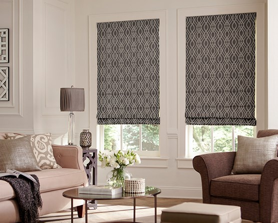 Bella View Legacy Roman Shades AmericanBlinds Adorable Roman Blinds Bedroom Collection