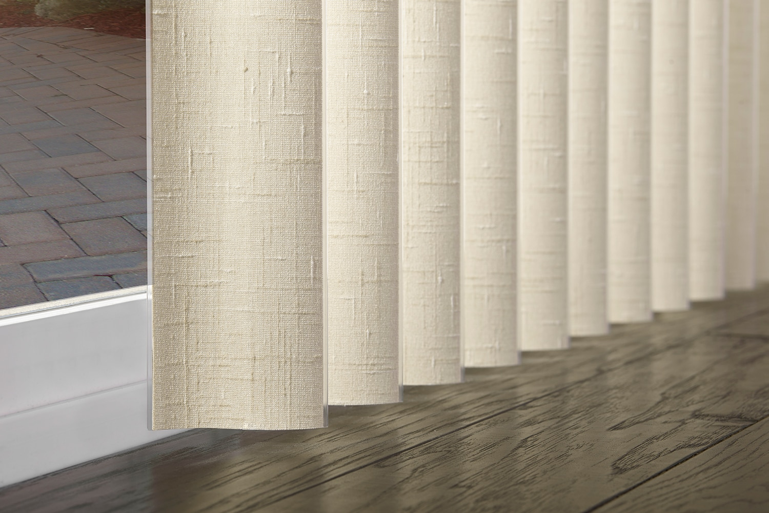 sshaped vertical blinds