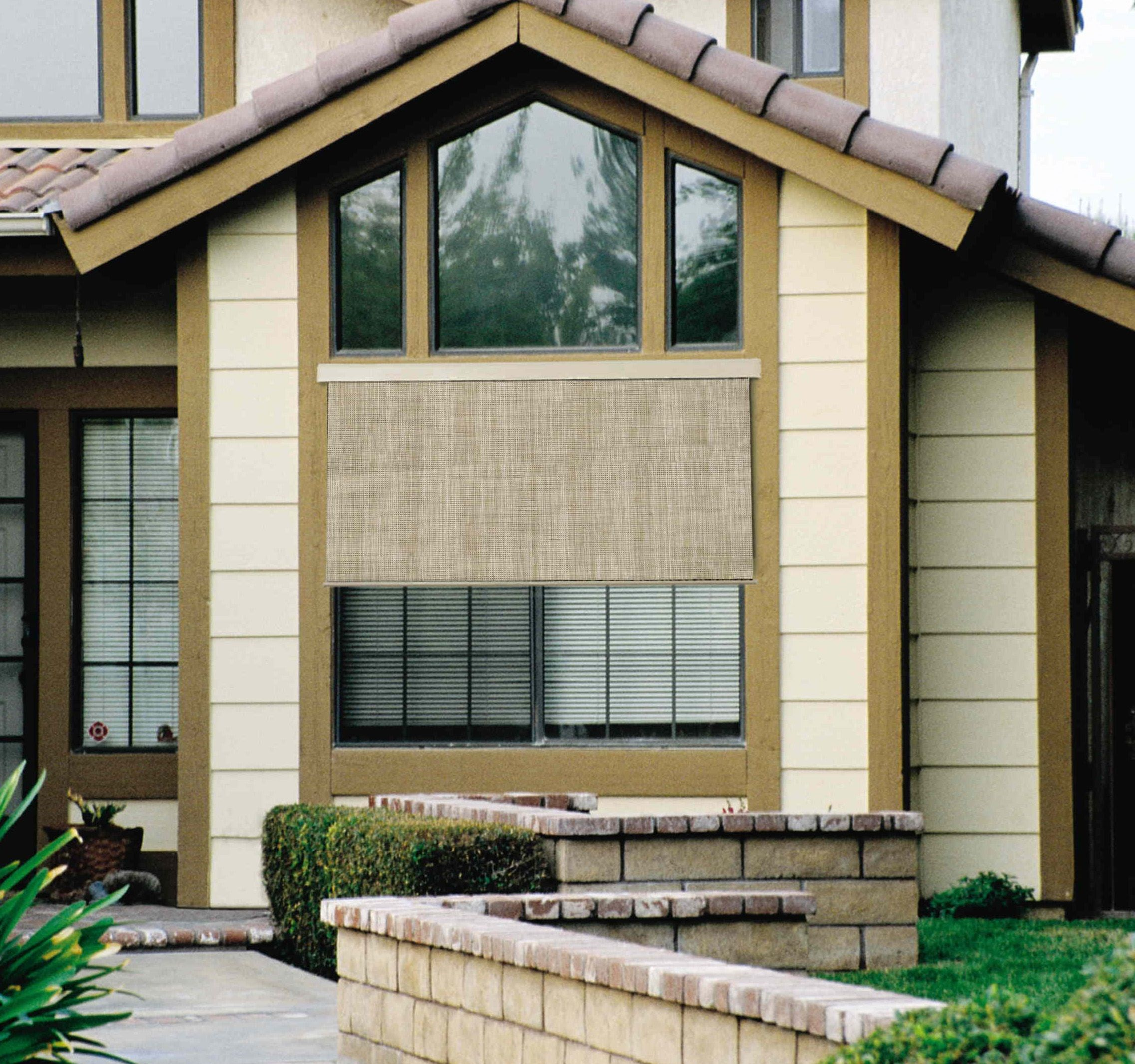 Solar Outdoor Shades Photo Gallery Americanblinds Com