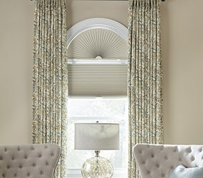 Arched Window Treatments | Arch Blinds and Shades