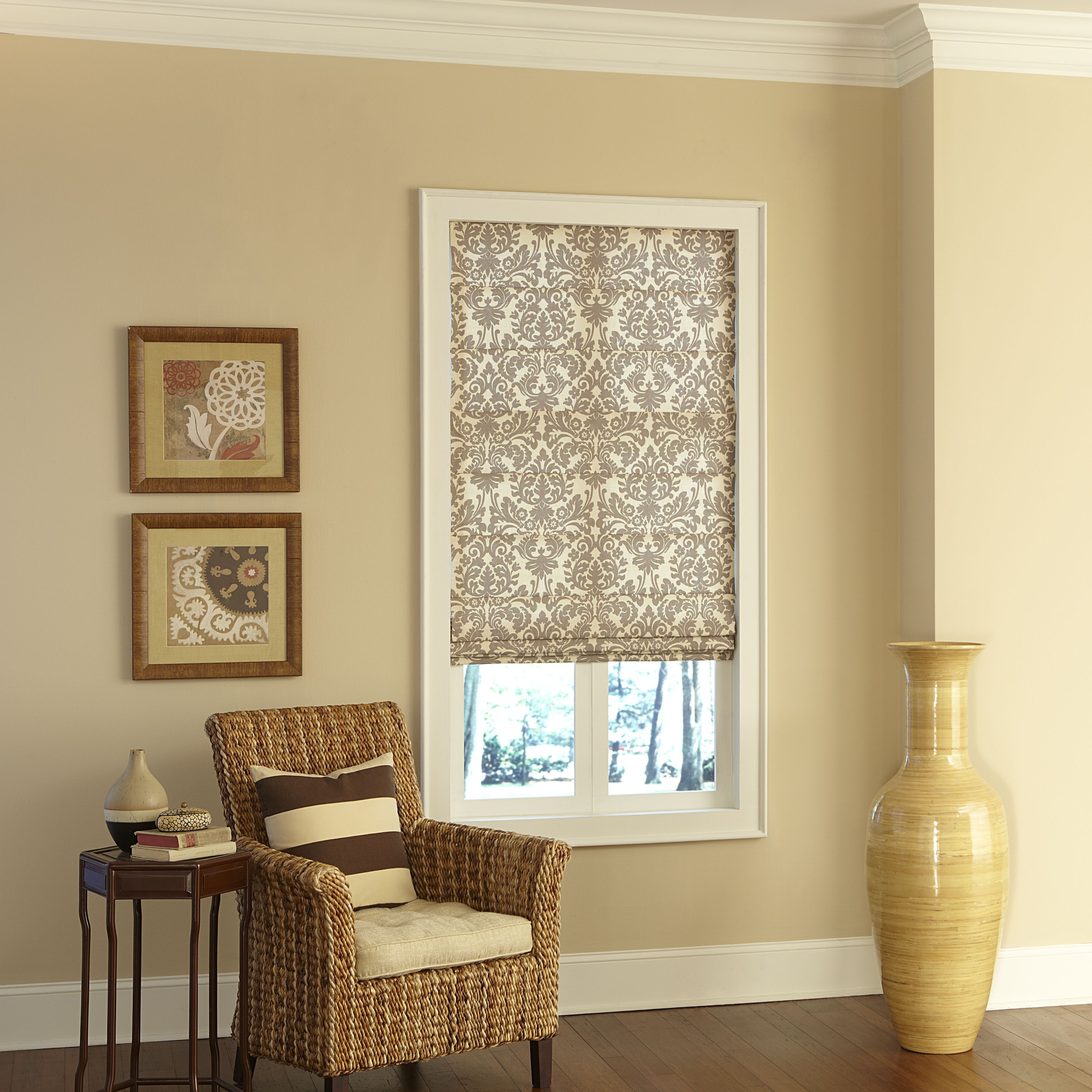 roman shade blinds decorative legacy roman shade photo gallery americanblindscom
