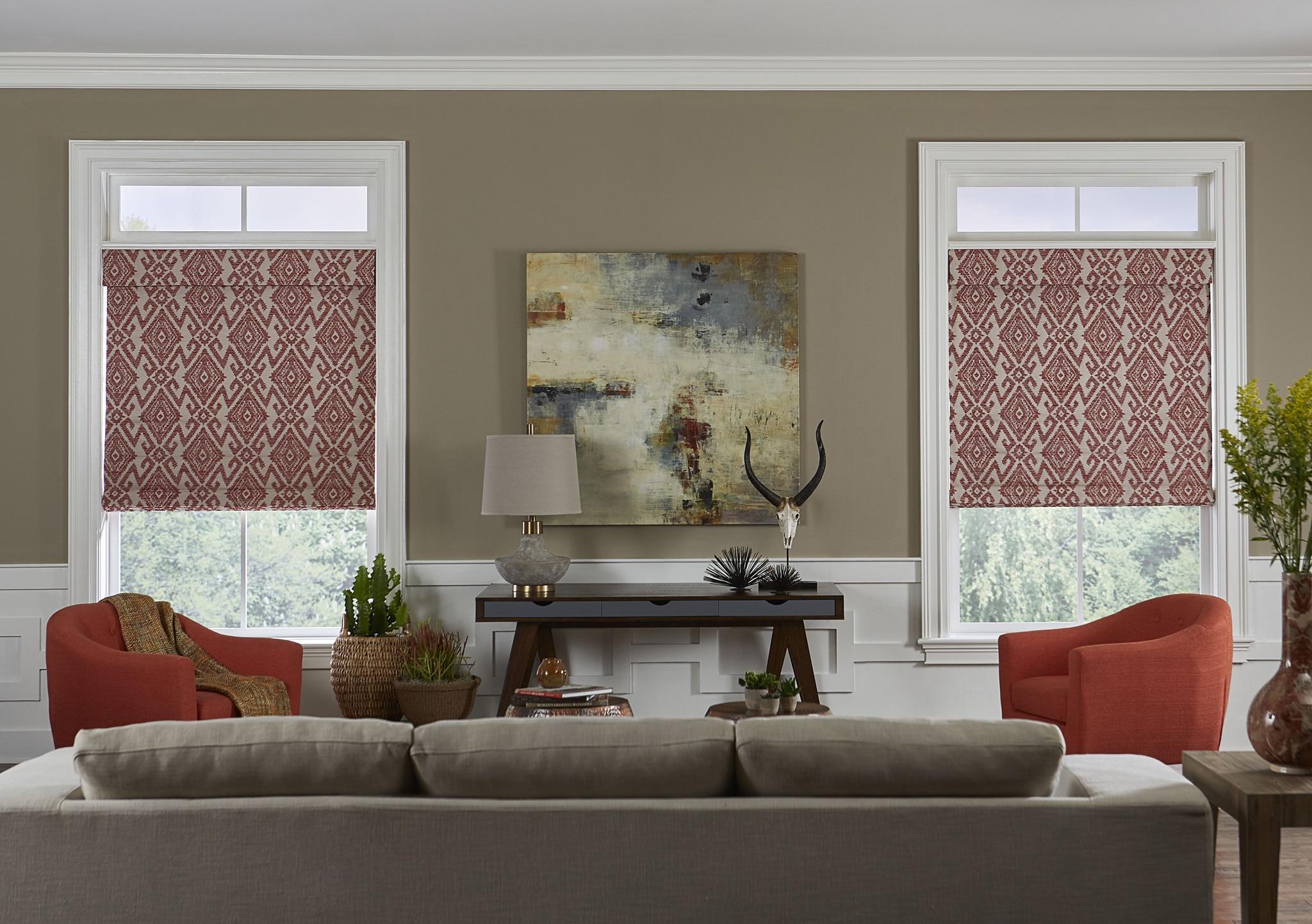 bella view trademark roman shade