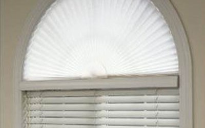 Bali Pleated Arches Shades Americanblinds Com